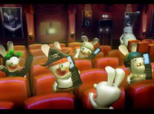 Rayman et  Les Lapin crétin