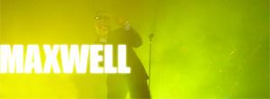 Maxwell en concert au Nouveau casino