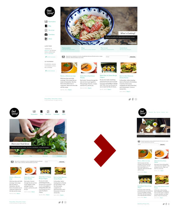 Responsive web design site 2