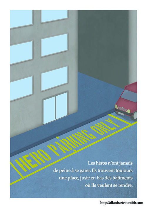 Héros et parking